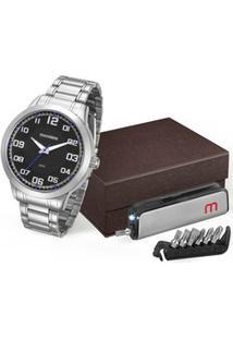Kit Relógio Masculino Mondaine 99142G0Mvne1Ka