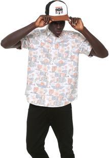 Camisa Element Reta James Branca