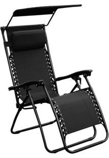 Cadeira De Jardim Equilibrium Ii Preta