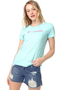 Blusa Calvin Klein Jeans Memories Verde