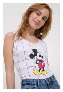 Body Grid Com Repetição De Ìcone Mickey