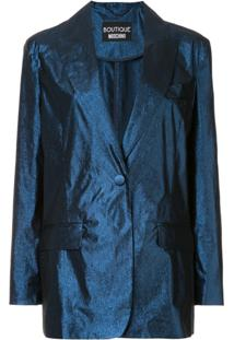 Boutique Moschino Suit Jacket - Azul