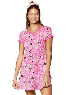 Camisola Patches- Rosa Claro & Pinkpuket