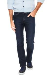 Calça Jeans Lee Reta Mark Azul-Marinho