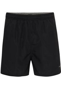 Shorts Microfibra Preto Vacation