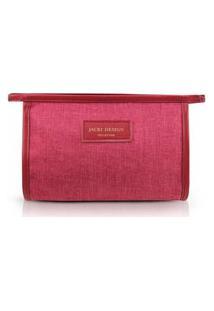 Necessaire Envelope Jacki Design Be You Vermelho