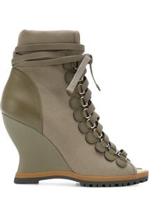 Chloé Ankle Boot 'River' - Verde
