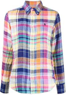 Polo Ralph Lauren Check Print Shirt - Azul