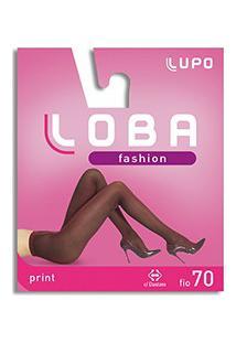 Meia-Calça Print Loba Lupo (05878-001) Fio 70