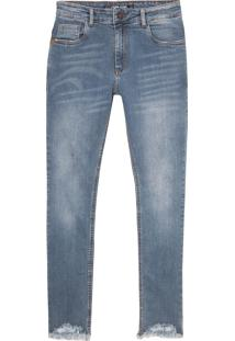 Calça John John Super Skinny Bonito Jeans Azul Masculina (Jeans Claro, 44)