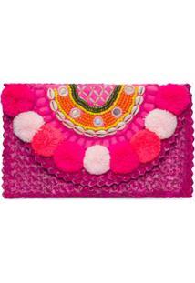 Clutch Vicky Prayah - Rosa