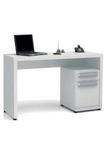 Escrivaninha 1 Gaveta E 1 Porta Branca S970-Br Kappesberg