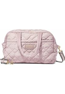 Marc Jacobs Mala The Quilted Nylon Large Weekender - Rosa