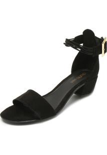 Sandália Dafiti Shoes Lisa Preta
