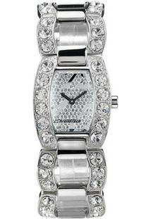 Relógio De Pulso Chronotech Privé - Aço - Feminino-Prata