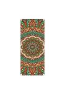 Adesivo Decorativo De Porta - Mandala - 288Cnpt Auto Colante