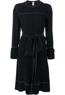 Marni Vestido Estilo Suéter Acinturado - Preto
