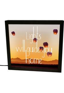Luminária Prolab Gift Lightbox Home Preta