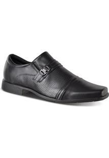 Sapato Social Ferracini Bragança Masculino - Masculino-Preto