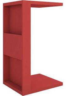 Mesa De Apoio Book - Vermelho