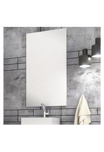 Espelheira Para Banheiro Sigma 50X90Cm Bosi Branca