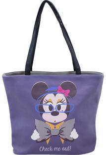 Bolsa Minas De Presentes Minnie Roxa