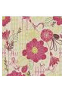 Papel De Parede Autocolante Rolo 0,58 X 3M - Floral 1310