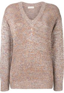 Etro V-Neck Sweater - Neutro