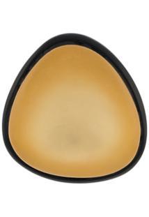 Monies Par De Brincos Bicolor - Dourado