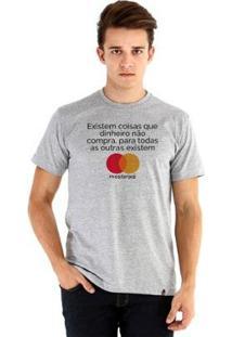Camiseta Ouroboros Manga Curta Master Pai - Masculino-Cinza