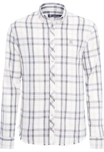 Camisa Masculina Dan - Off White