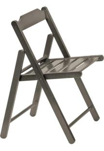 Cadeira Dobrável Tramontina Beer 10601064 Madeira Tabaco