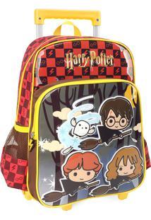 Mochila De Rodinhas Harry Potter