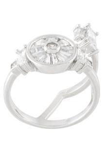 V Jewellery Anel 'Olive' - Cinza