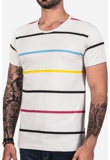 Camiseta Hermoso Compadre Listrada Masculina - Masculino