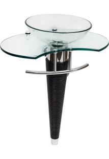 Gabinete Para Banheiro De Vidro Beethoven Astra Gp-B Transparente