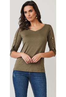 Blusa Youtwo Verde