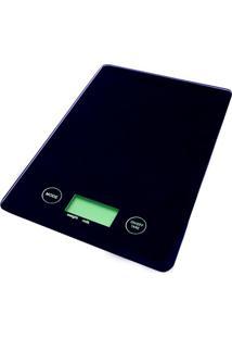 Balança Digital Para Cozinha Preto 5 Kg - 28756