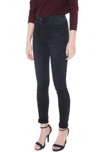 Calça Jeans Calvin Klein Jeans Skinny Sculpted Azul-Marinho