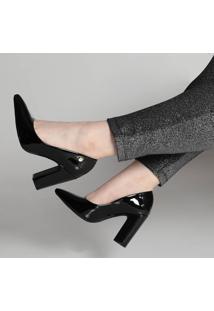 Sapato Scarpin Vizzano Salto Grosso