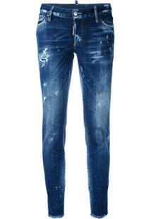 Dsquared2 Calça Jeans 'Cool Girl' - Azul
