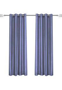 Cortina Nouvelle - 2,80X2,40 - Evolux - Azul