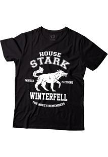 Camiseta Blitzart Game Of Thrones - Winterfell