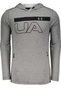 Blusão Under Armour Terry Graphic Manga Longa
