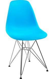 Cadeira Eames Side L Azul