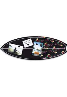 Quadro Mural Painel Magnético Para Fotos Prancha De Surf