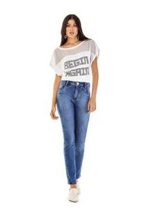 804feb367 ... Calca Skinny Andreia Cos Intermediario Media Jeans
