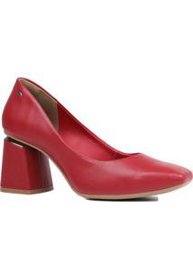 Sapato Scarpin Dakota Bico Quadrado Salto Grosso