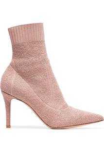 Gianvito Rossi Ankle Boot 'Fiona 85' - Neutro