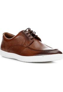 Sapatênis Couro Shoestock Clássico Masculino - Masculino